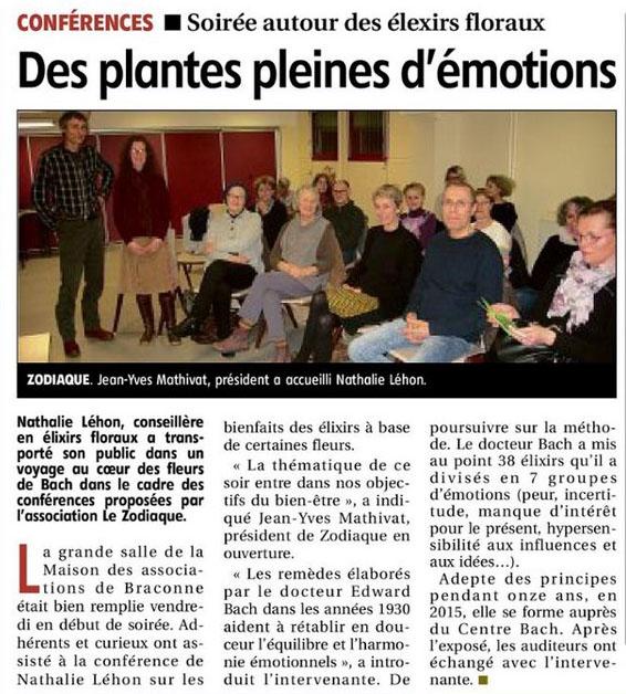 Association Le Zodiaque - Presse 22 février 2020